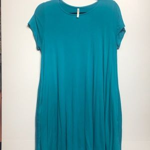 Mittoshop teal tunic/dress